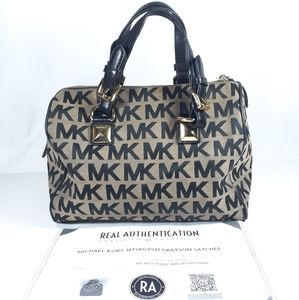 Michael Kors Grayson Satchel with COA USED